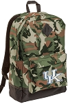 Kentucky Wildcats Camo Backpack