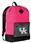 University of Kentucky Backpack Classic Style HOT PINK