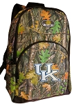 University of Kentucky Backpack REAL CAMO DESIGN