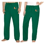 University of Miami Scrubs Bottoms Pants