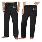 University of Miami Scrubs Pants Bottoms