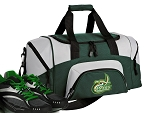 UNC Charlotte Small Duffle Bag Green