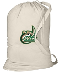 UNCC Laundry Bag Natural