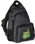 UNC Charlotte Backpack Cross Body Style Gray
