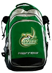 UNCC Harrow Field Hockey Lacrosse Backpack Bag Green
