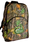 UNC Charlotte Backpack REAL CAMO DESIGN
