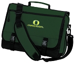 University of Oregon Messenger Bag Green