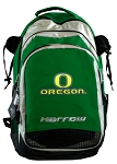 University of Oregon Harrow Field Hockey Lacrosse Backpack Bag Green