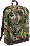 University of Oregon Camo Backpack