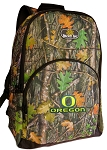 University of Oregon Backpack REAL CAMO DESIGN
