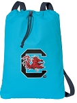 South Carolina Cotton Drawstring Bag Backpacks Blue