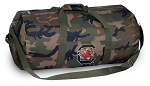 University of South Carolina Camo Duffel Bags