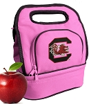 University of South Carolina Lunch Bag Pink