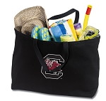 South Carolina Jumbo Tote Bag Black