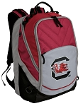 South Carolina Gamecocks Deluxe Laptop Backpack Red