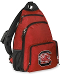 South Carolina Gamecocks Backpack Cross Body Style Red