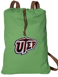 UTEP Miners Cotton Drawstring Bag Backpacks Cool Navy