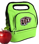 UTEP Miners Lunch Bag Green