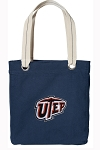 UTEP Miners Tote Bag RICH COTTON CANVAS Navy