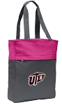UTEP Miners Tote Bag Everyday Carryall Pink