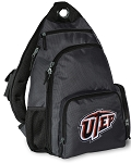 UTEP Miners Backpack Cross Body Style Gray