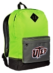 UTEP Backpack HI VISIBILITY Green UTEP Miners CLASSIC STYLE