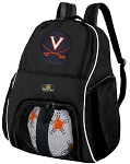 University of Virginia Soccer Backpack or UVA Volleyball Bag For Boys or Girls
