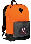 UVA Backpack HI VISIBILITY Orange University of Virginia CLASSIC STYLE