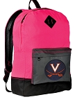 UVA Backpack HI VISIBILITY University of Virginia CLASSIC STYLE For Her Girls Women