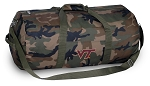 Virginia Tech Camo Duffel Bags