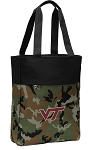 Virginia Tech Tote Bag Everyday Carryall Camo