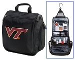 Virginia Tech Hokies Toiletry Bag or Virginia Tech Shaving Kit Travel Organizer for Men