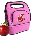 Washington State Lunch Bag Pink
