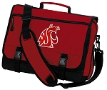 Washington State Messenger Bag Red