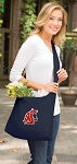 Washington State Tote Bag Sling Style Navy