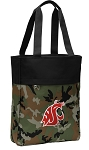 Washington State Tote Bag Everyday Carryall Camo