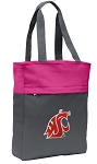 Washington State Tote Bag Everyday Carryall Pink