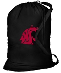 Washington State Laundry Bag Black