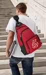 Washington State Backpack Cross Body Style Red