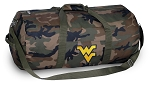 West Virginia Camo Duffel Bags