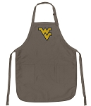 Official WVU Logo Apron Tan