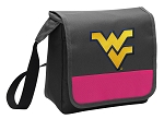 WVU Lunch Bag Cooler Pink