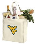 WVU Shopping Bags Canvas