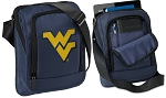 West Virginia Tablet or Ipad Shoulder Bag Navy
