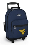West Virginia Rolling Navy Backpacks