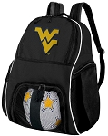West Virginia University Soccer Backpack or WVU Volleyball Bag For Boys or Girls
