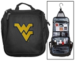 West Virginia University Toiletry Bag or WVU Shaving Kit Travel Organizer for Men