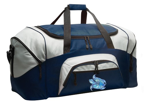 Sea Turtle Duffle Bag Navy