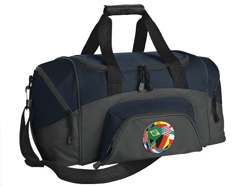 Small Soccer Duffle Bag Navy