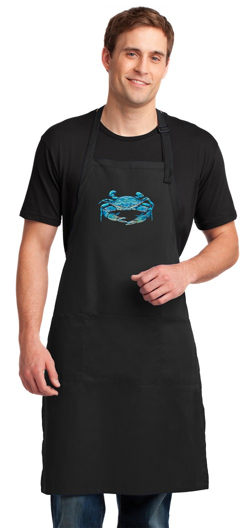 BLUE CRAB Apron LARGE